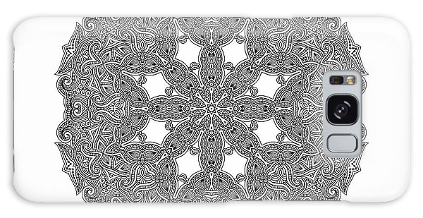 Mandala To Color Galaxy Case by Mo T