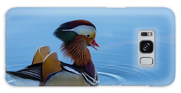 Majestic Mandarin Duck Galaxy Case