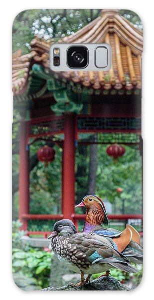 Mandarin Ducks At Pavilion Galaxy Case