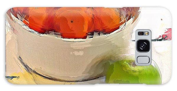 Mandarin With Apple Galaxy Case
