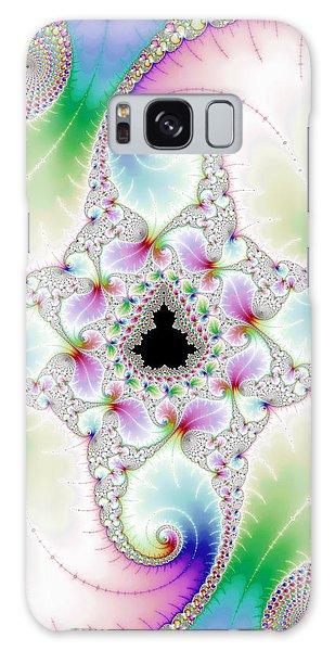 Mandebrot In Pastel Fractal Wonderland Galaxy Case