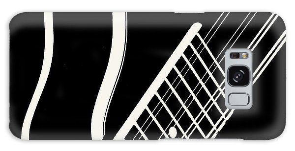 Mandolin Close Bw Galaxy Case by Jana Russon