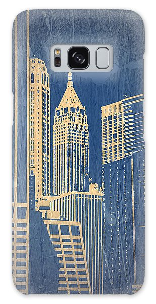 Chrysler Building Galaxy Case - Manhattan 1 by Naxart Studio