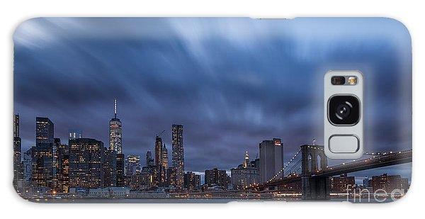 Manhattan And Brooklyn Bridge Galaxy Case