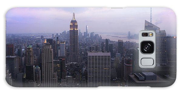 Manhattan At Dawn Galaxy Case