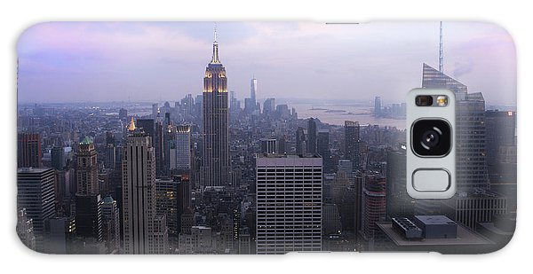 Manhattan At Dawn Galaxy Case