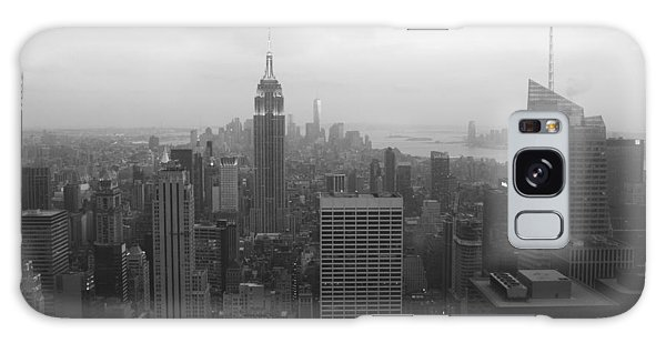 Manhattan Black And White Galaxy Case