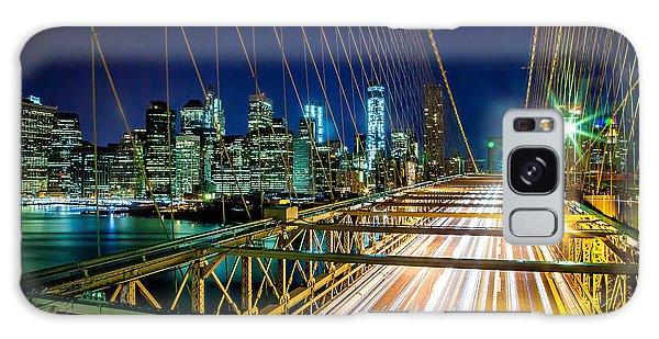 Brooklyn Bridge Galaxy Case - Manhattan Bound by Az Jackson