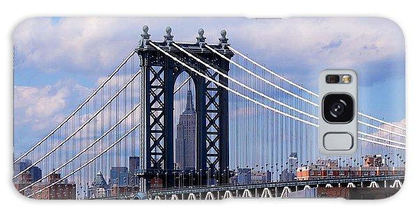 Manhattan Bridge Framing The Empire State Building Galaxy Case