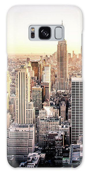 Empire State Building Galaxy S8 Case - Manhattan by Michael Weber