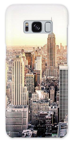 Building Galaxy Case - Manhattan by Michael Weber