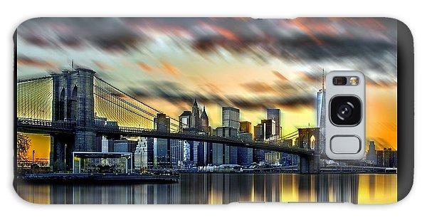 Manhattan Passion Galaxy Case by Az Jackson
