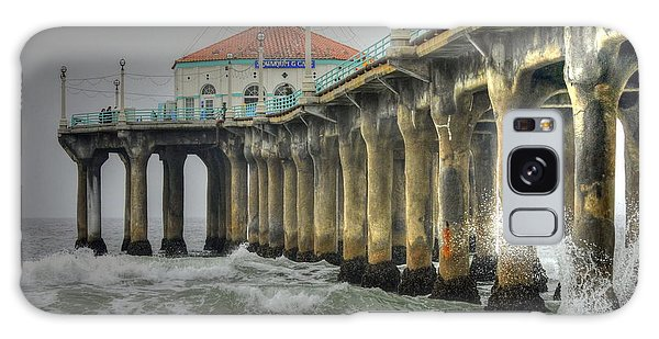 Manhattan Pier Roundhouse Splash Galaxy Case