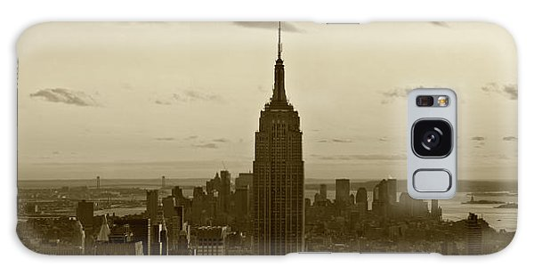 Manhattan Sky View Galaxy Case by Terry Cork