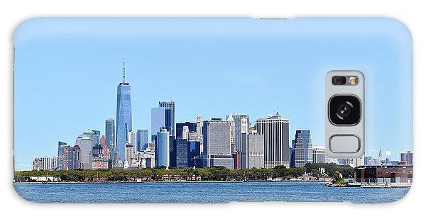 Manhattan Skyline 1 Galaxy Case