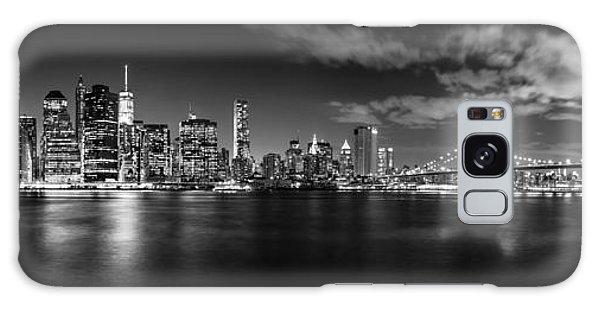 Brooklyn Bridge Galaxy Case - Manhattan Skyline At Night by Az Jackson