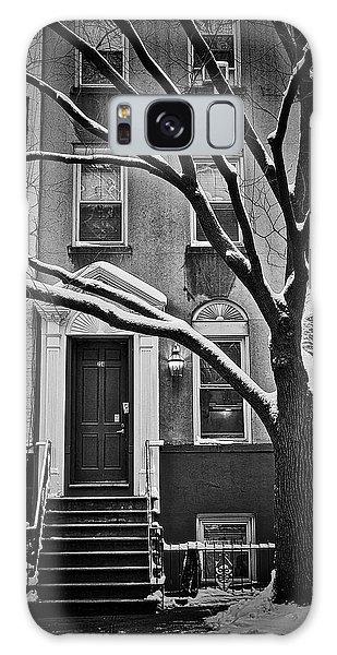 Manhattan Town House Galaxy Case by Joan Reese