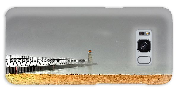 Manistee Light And Fog Galaxy Case