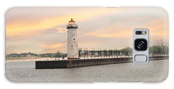 Manistee North Pierhead Lighthouse Galaxy Case