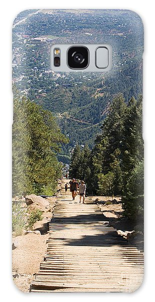 Manitou Springs Pikes Peak Incline Galaxy Case