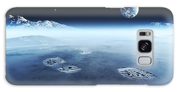 Earth Galaxy Case - Mankind Exploring Space by Johan Swanepoel