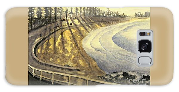 Manly Beach Sunset Galaxy Case