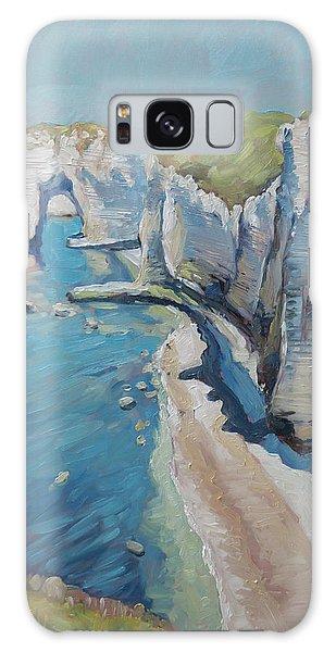 Manneport, The Cliffs At Etretat Galaxy Case