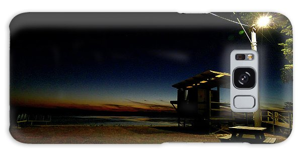 Manns Beach Nocturnal 2 Galaxy Case