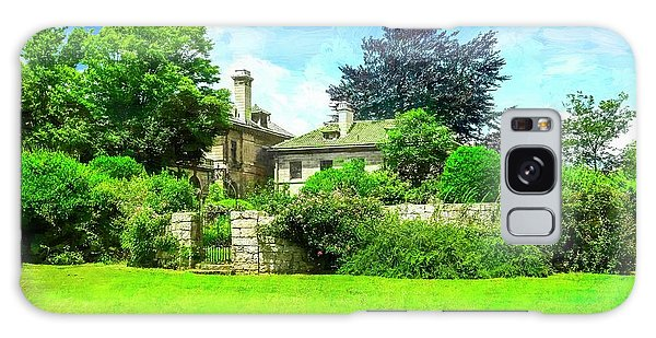 Mansion And Gardens At Harkness Park. Galaxy Case