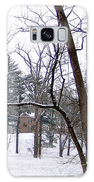 Mansion In The Snow Galaxy Case