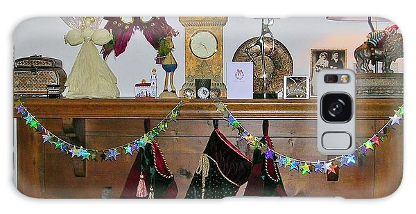 Mantel With Mask Galaxy Case
