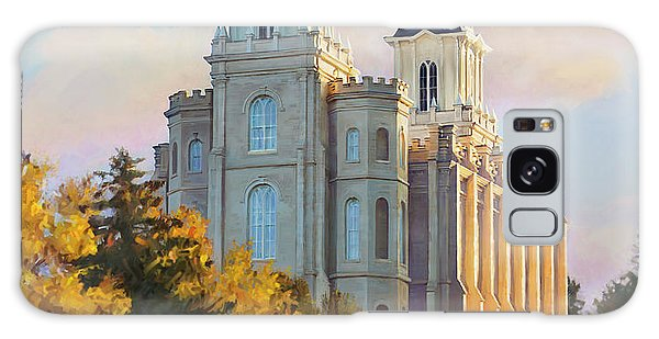 Manti Temple Tall Galaxy Case
