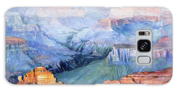 Galaxy Case featuring the painting Many Hues by Steve Henderson
