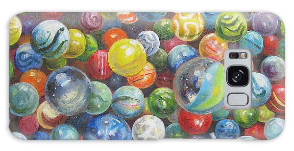 Many Marbles Galaxy Case