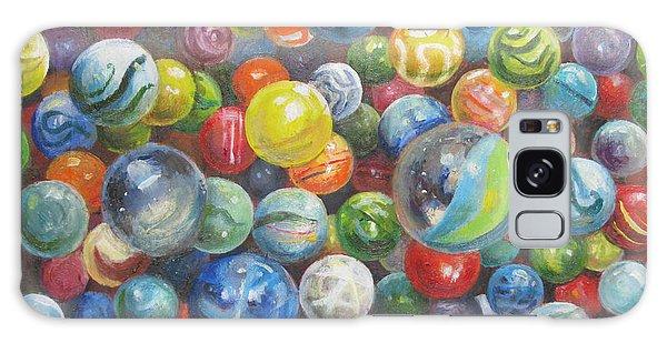 Many Marbles Galaxy Case by Oz Freedgood