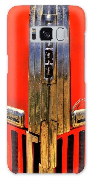 Manzanar Fire Truck Hood And Grill Detail Galaxy Case