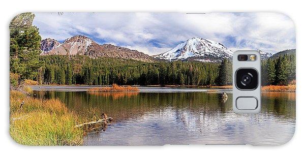 Manzanita Lake - Mount Lassen Galaxy Case by James Eddy