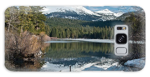 Manzanita Lake Reflects On Mount Lassen Galaxy Case by Greg Nyquist
