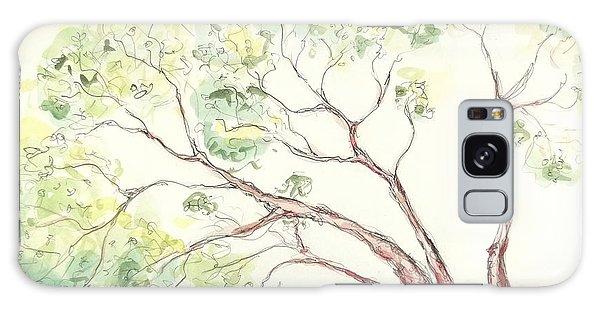 Manzanita Tree Galaxy Case