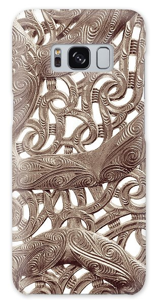 Maori Abstract Galaxy Case