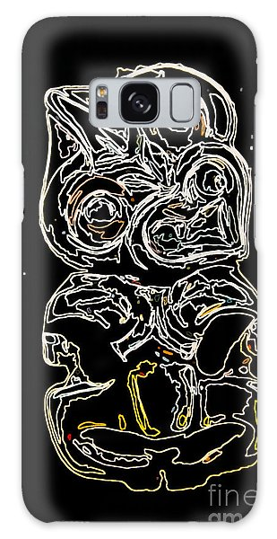 Maori Art Galaxy Case by Yurix Sardinelly