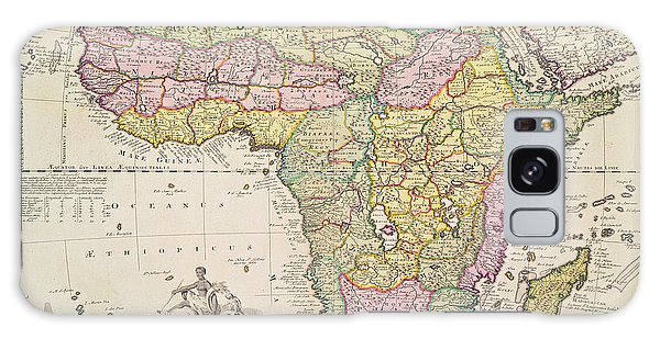 Colours Galaxy Case - Map Of Africa by Pieter Schenk