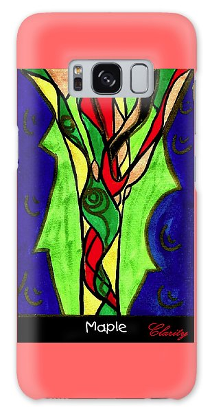 Maple Galaxy Case by Clarity Artists