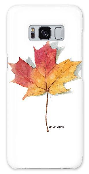 Maple Leaf Galaxy Case
