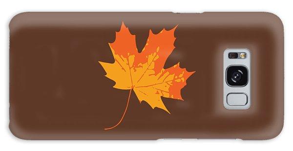 Galaxy Case featuring the digital art Maple Leaf by Jennifer Hotai