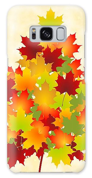 Foliage Galaxy Case - Maple Leaves by Anastasiya Malakhova