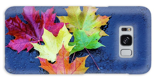 Maple Leaves Galaxy Case