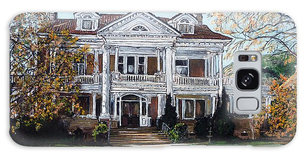 Mapleton Hill Homestead Galaxy Case by Tom Roderick