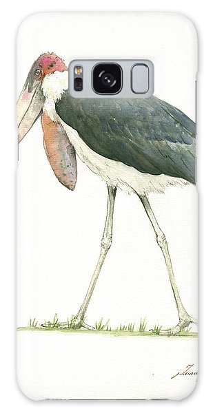 Stork Galaxy S8 Case - Marabou by Juan Bosco