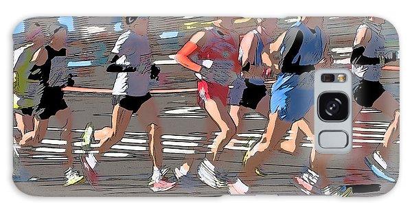 Marathon Runners II Galaxy Case